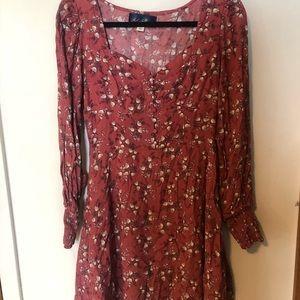 Francesca's Collections Dresses - Floral Mini Dress (Like New)